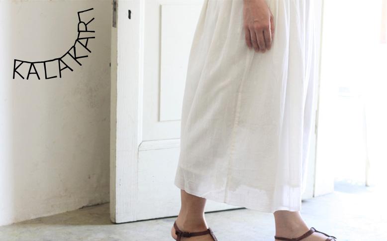 CALICO ジャムダニ織りのスカート