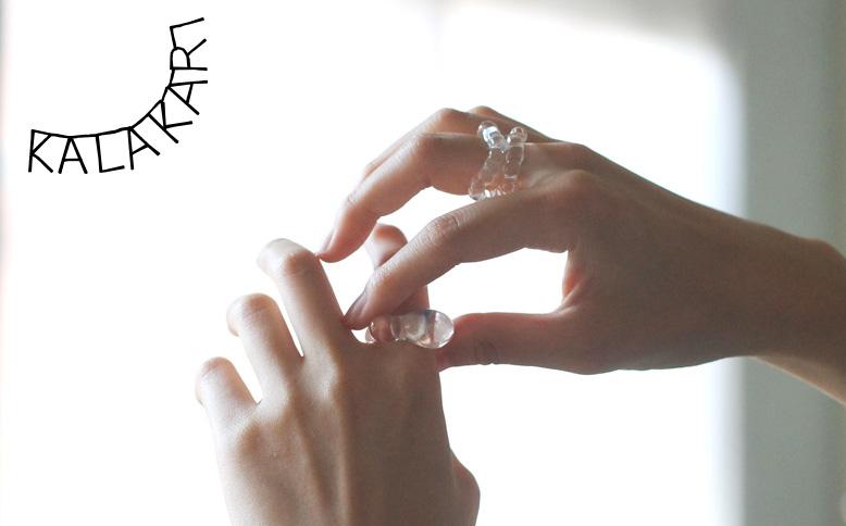 Lima7192 ガラスのリング
