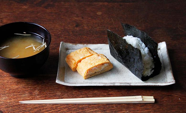 笠間焼のさんま皿と角皿