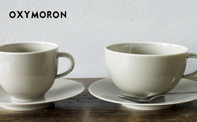 "tableware for ""OXYMORON"" 2 再入荷"