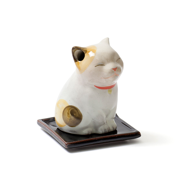 Incense Burner Small Cat