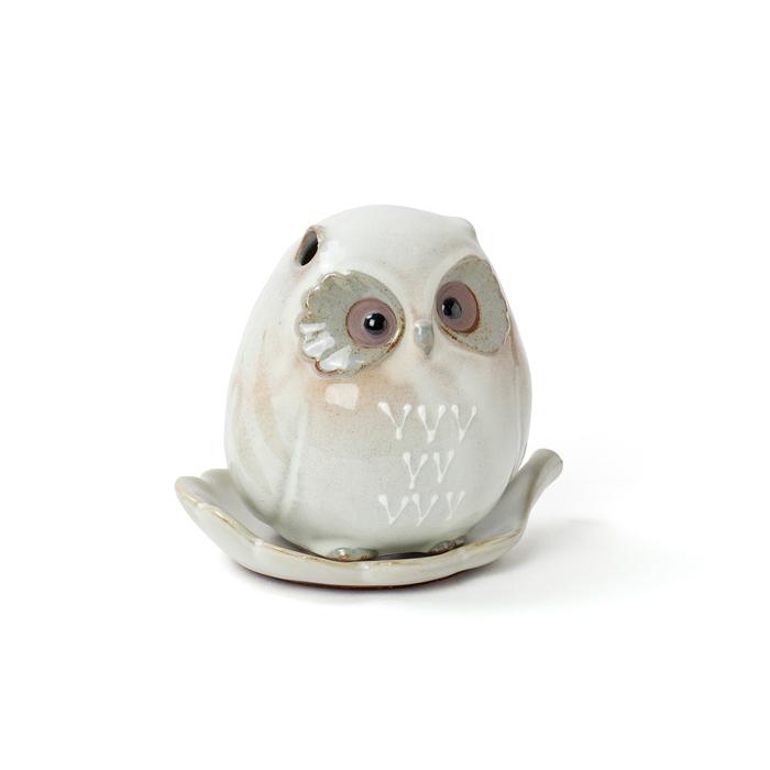 Incense Burner Small Owl