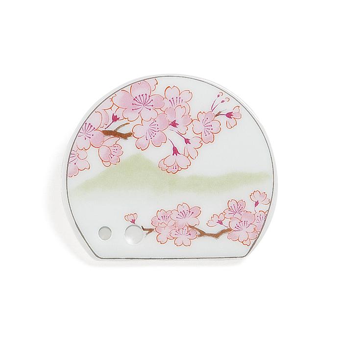 Porcelain Incense Holder Cherry Blossoms/Hanasaki