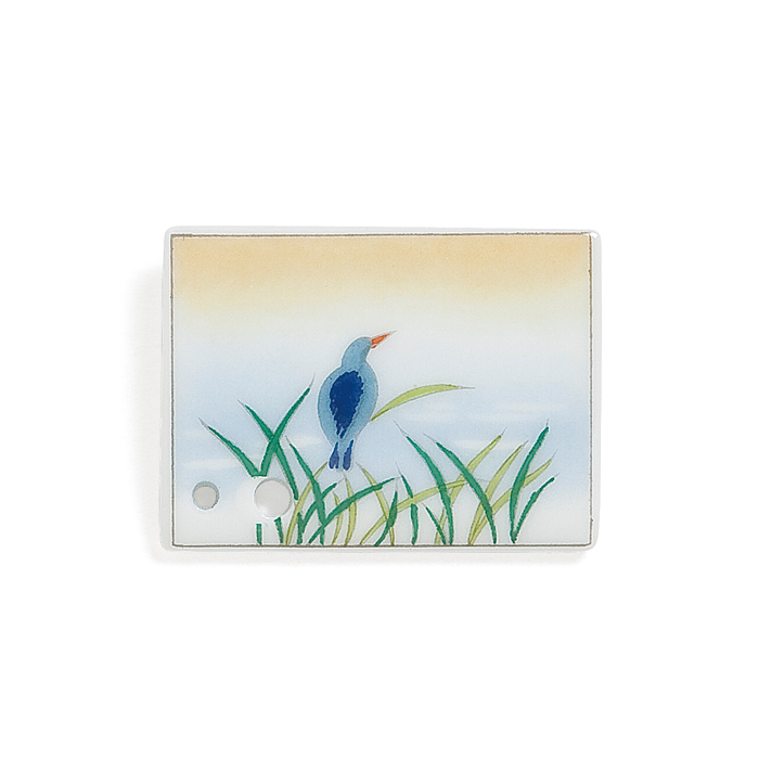 Porcelain Incense Holder Kingfisher/Ryobo