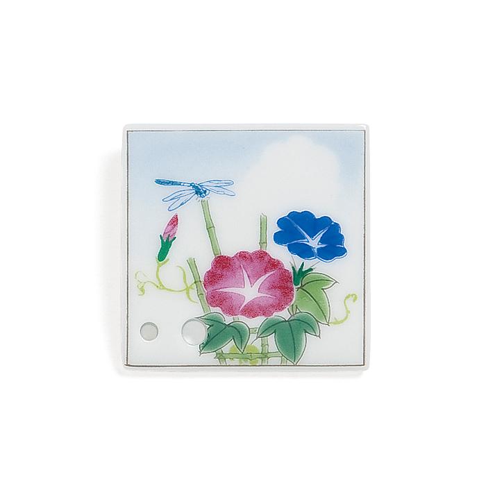 Porcelain Incense Holder Morning Glory/Tanabata