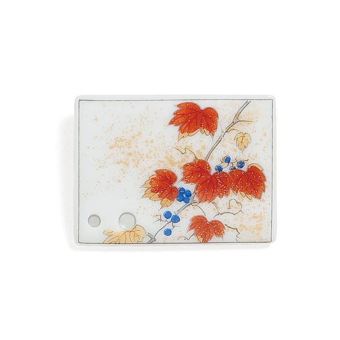 Porcelain Incense Holder Autumn Ivy/Momiji