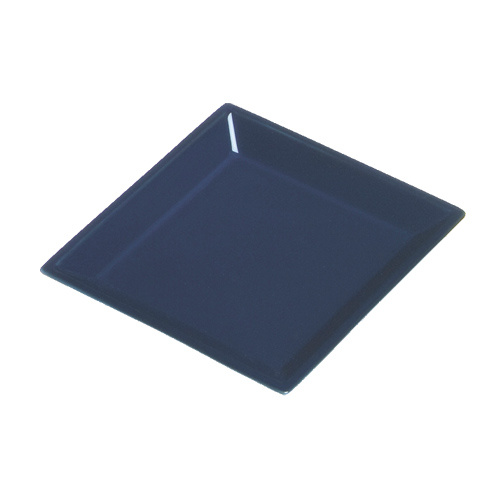 Square Porcelain Incense Tray DARK BLUE