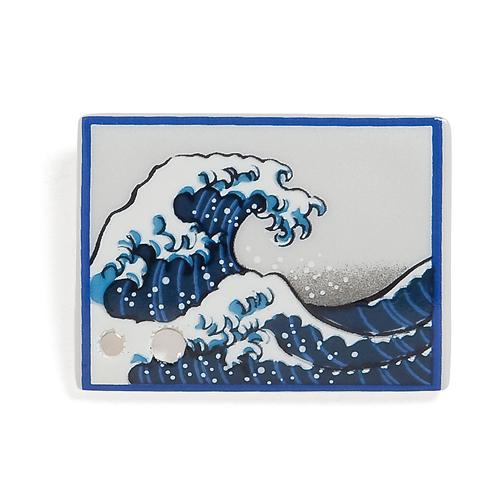 Porcelain Incense Holder Wave/Nami ★EXPORT-ONLY PRODUCT