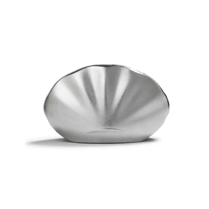 Incense holder Kolip Shell - Matt Silver