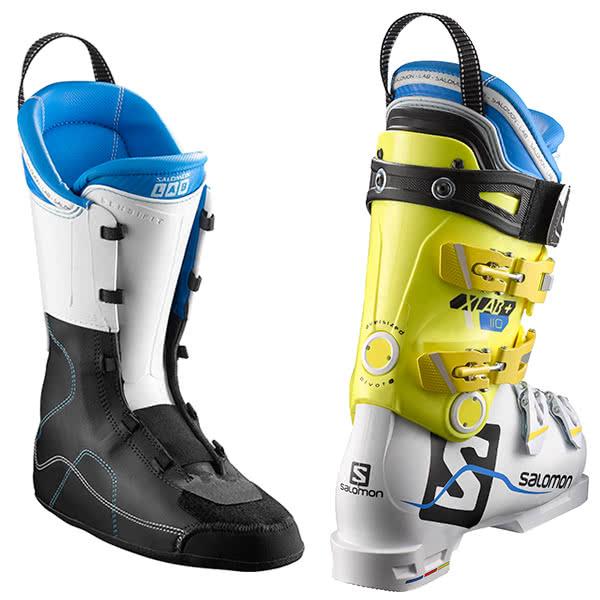 HC〕SALOMON〔Ski Boots〕<2018>X LAB+ 110〔whiteyellow