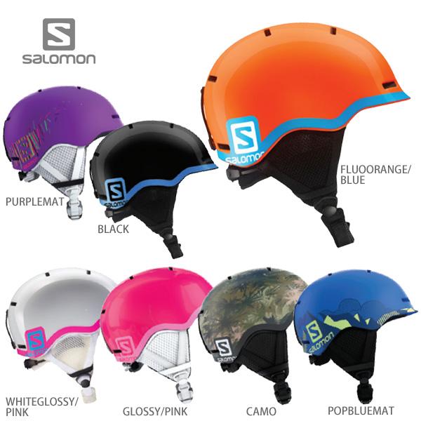 HC〕SALOMON〔Junior Kids Ski Helmet〕<2019>GROM Ski Gear