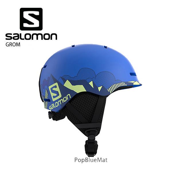 HC〕SALOMON〔Junior Kids Ski Helmet〕<2020>GROM Ski Gear