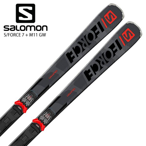 Salomon S//Force 7 Mens Skis W//M11 GW Bindings