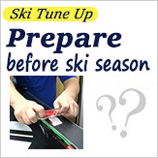 Preparation of the ski before the season