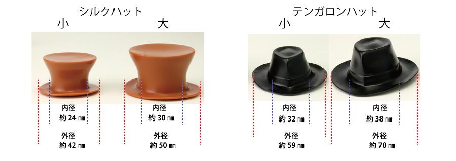 帽子サイズ