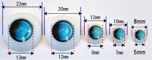 eye sizes
