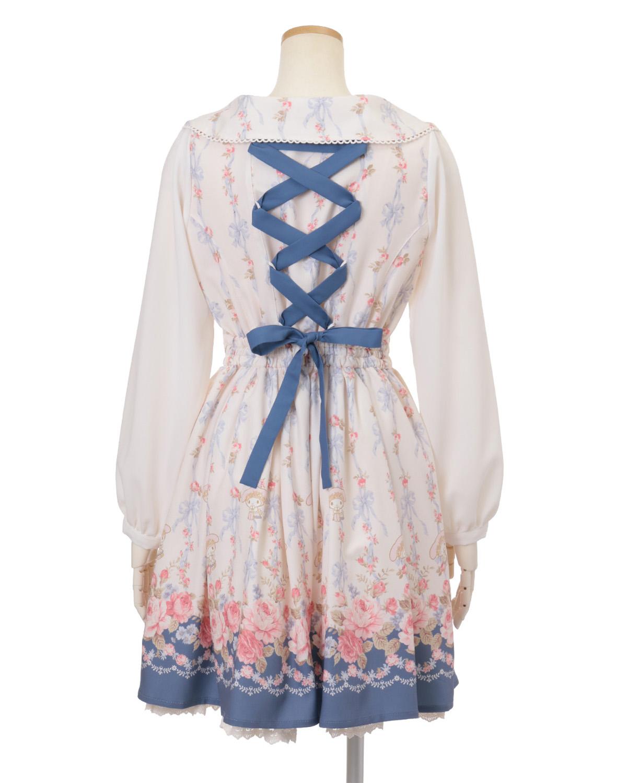 Cheap Purple Lolita Dress Lace Bow-knot Sweet Lolita Dress