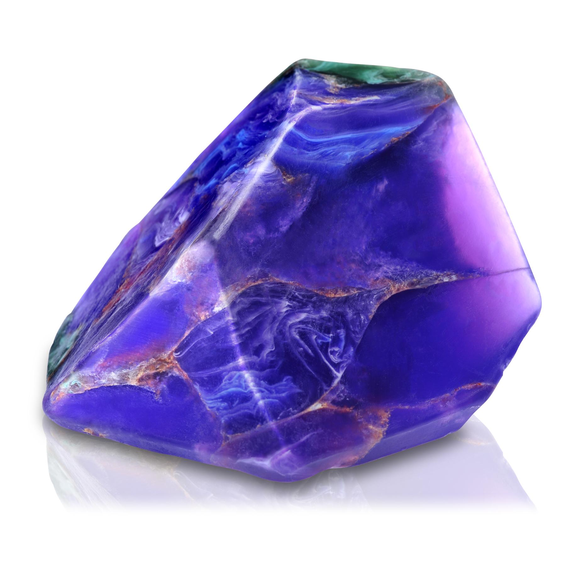 藍銅孔雀石