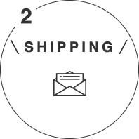 送付先ご住所にカタログギフトを閲覧するためのログイン情報とURLが記載されたカードが届きます