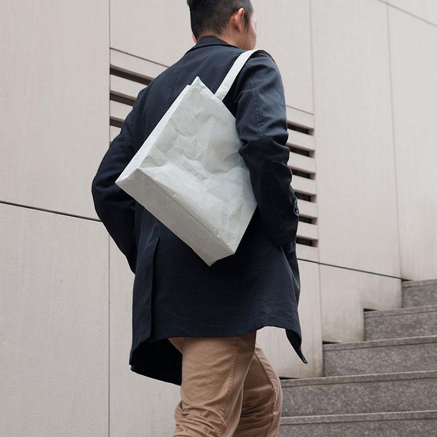 SIWA|紙和 スクエアショルダーバッグ