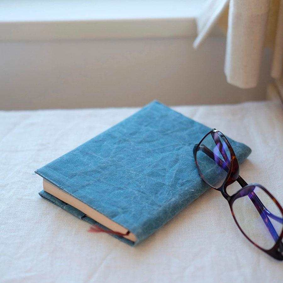 【福袋 梅】SIWA|紙和 ブックカバー 文庫サイズ