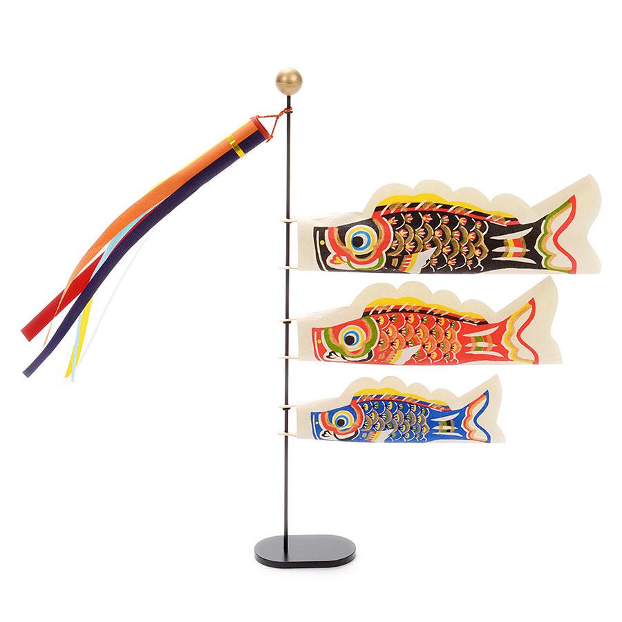 【季節限定】桂樹舎 和紙製 鯉のぼり卓上型「悠々」端午の節句 子供の日