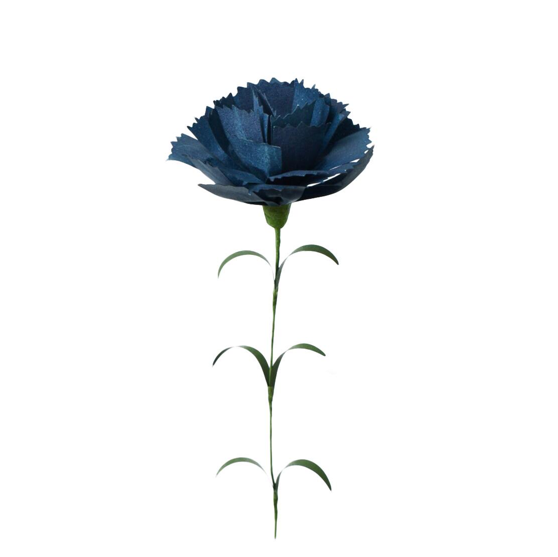 PAPER EDEN  Carnation カーネーション ダークブルー