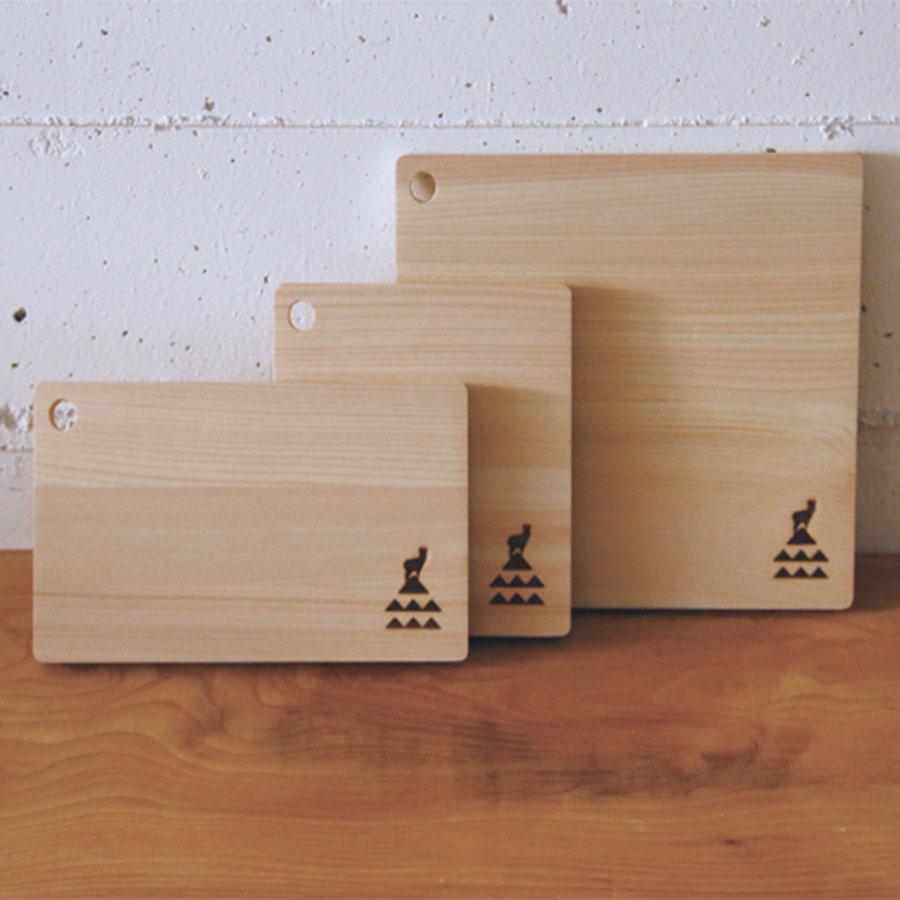かもしか道具店 ひのきのまな板 敷板