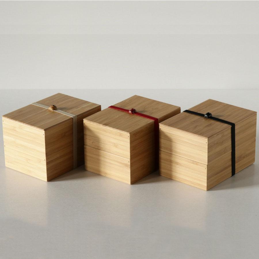 公長齋小菅  二段弁当箱 竹製 ランチボックス