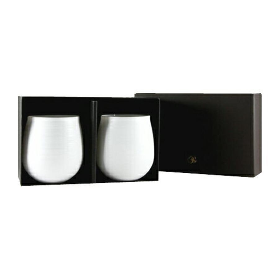 やま平窯元 エッグシェル KaoriペアセットL ギフト(化粧箱入)