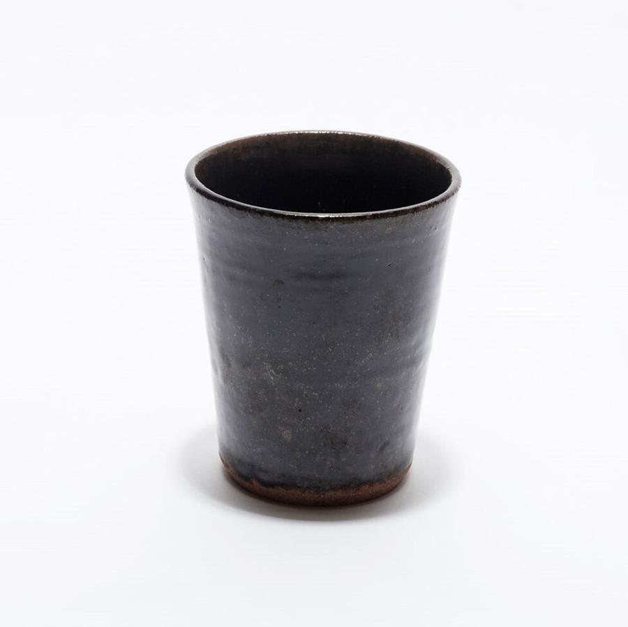 セラニスプロジェクト  会津本郷焼  宗像窯 ビアカップ